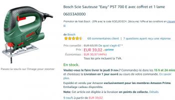 Scie sauteuse Bosch «Easy» PST 700 E – Promotion